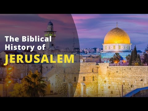 History Of Jerusalem In The Bible