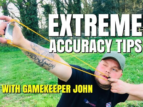 CATAPULT ACCURACY TIPS! HOW TO SHOOT LIKE  PRO!