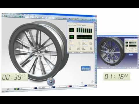 CATIA V6 | Shape Surfacing | Mechanical Surfaces | Improved Performances with Multiprocessing