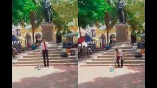 Pastor evangélico destruye imagen de la Virgen del Carmen | Noticias Caracol