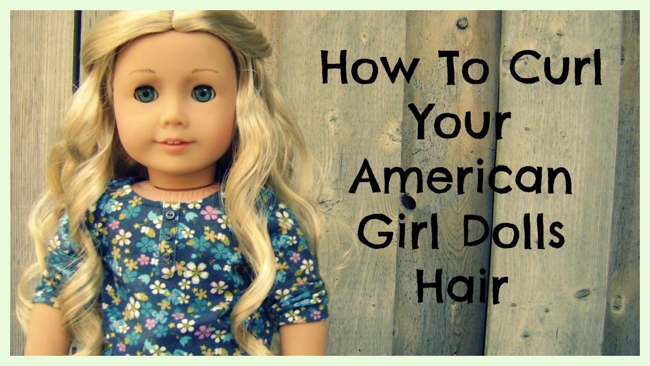 curl american girl