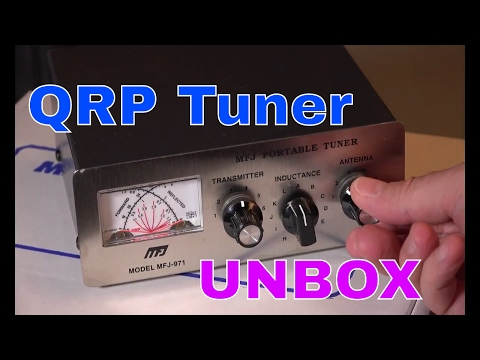 Radio Antenna Tuner | MFJ 971 Unboxing | QRP Ham Radio Portable Tuner