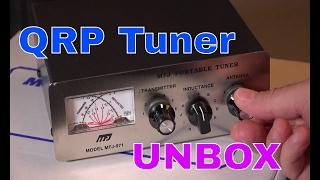 Radio Antenna Tuner   MFJ 971 Unboxing   QRP Ham Radio Portable Tuner