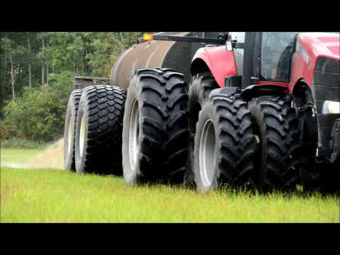 The Alliance 393 Floatation Tire in Action