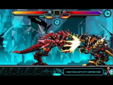 Мультики роботы динозавры - Боевой Робот Т - Рекс - Соберем роботов - Мультик игра для детей