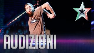 Cisky, il ballerino snodabile | Italia's Got Talent 2015