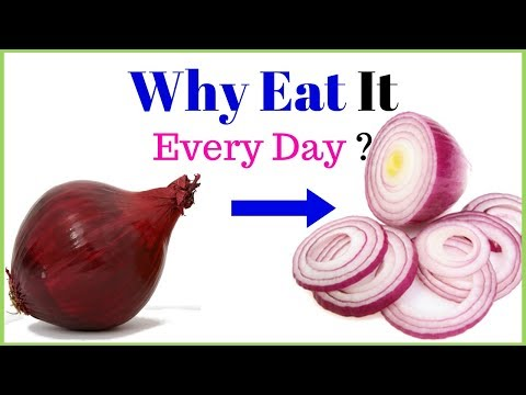 Eat raw onion every day for magical health benefits