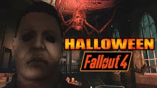 Fallout 4 - Halloween Party Hells Bells & Halloween Michael Myers - Xbox, PS4, PC Mods