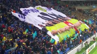 Впечатляющий перформанс на матче «Астана» — «Вильярреал»