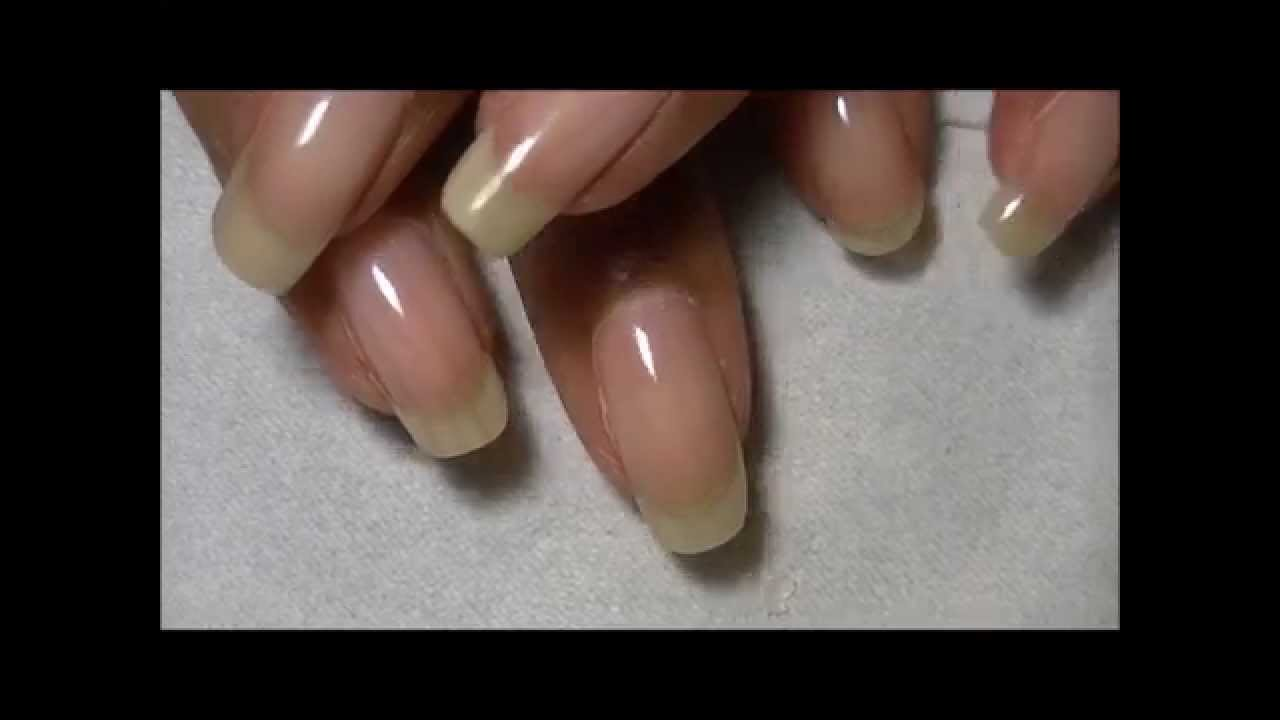 GELISH VITAGEL UV/LED Nail Strengthener REVIEW Pt. 2! - YouTube