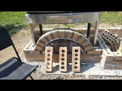 Abridged Brick BBQ Smoker and grill