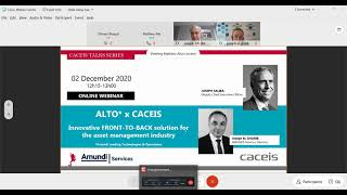 Webinar Alto* x CACEIS: Innovative FRONT-TO-BACK solution for the asset management industry