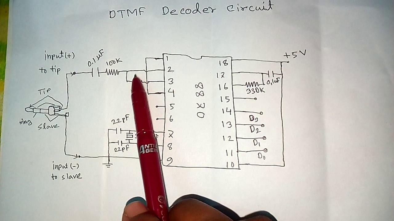 Dtmf Decoder Circuit