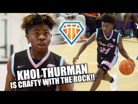 2023 Khoi Thurman is a CRAFTY LEFTY WITH VISION!! | Balling on the Beach Highlights