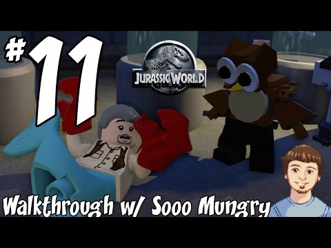 LEGO Jurassic World Walkthrough - PART 11 - Innovation Center (Research Lab) (Xbox One, PS4)