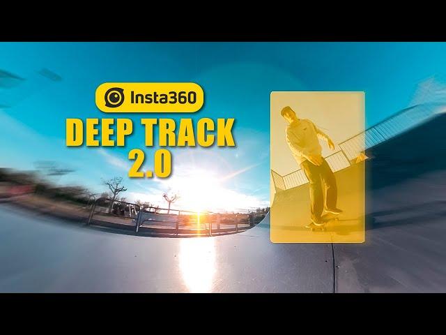 Tracker facilement l'action grâce au Deep Track 2.0 - Insta360