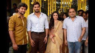 Nani 24 launch. manam, and hello fame vikram k kumar's next, starring natural star nani, rx 100 karthikeya, priyanka arul mohan launched. mythri movie mak...