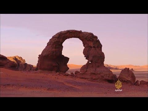 Tassili,  Algeria                                           الطاسيلي، الجزائر على الجزيرة الوثائقية