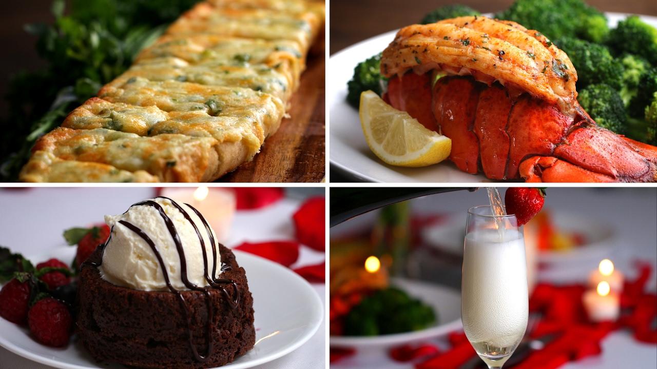 Lobster Dinner For Two Youtube