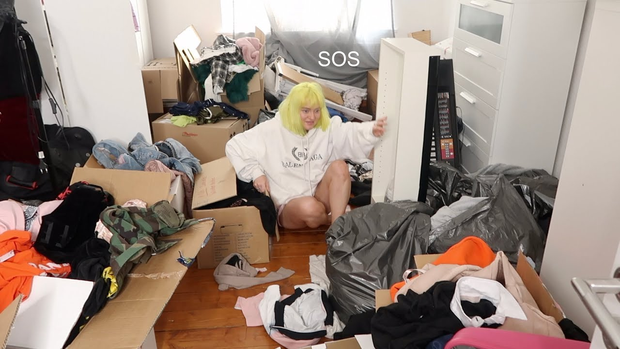 Reorganizing Room: Reorganizing The Messiest Room Ever (entire Closet And