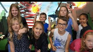 Short film: Children end up in computer game Roblox!