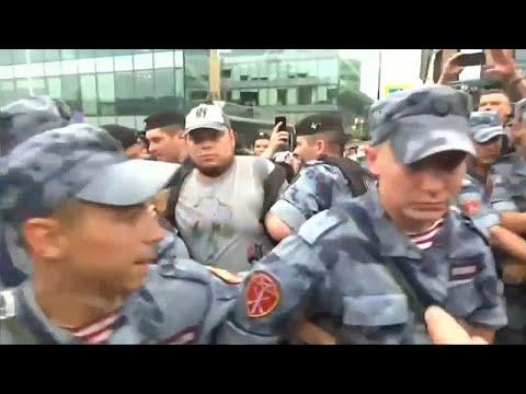 شاهد: اعتقال 94 روسياً خلال احتجاجات في موسكو  - 18:54-2019 / 6 / 12