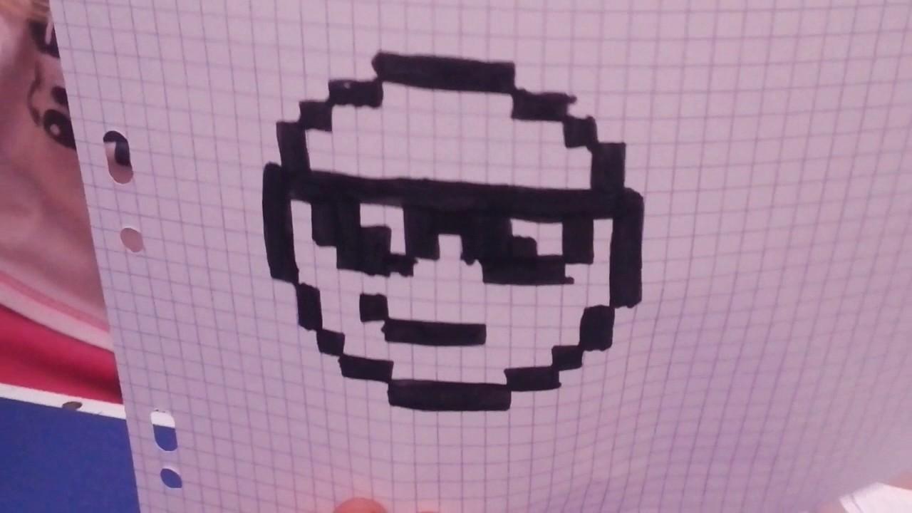 Dessin Pixel Smiley Youtube