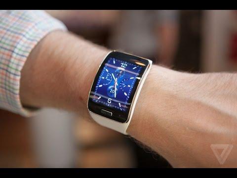 Trên Tay Samsung Gear S |Siêu Phẩm điên Thoại Thông Minh Nhất Thế Giới.