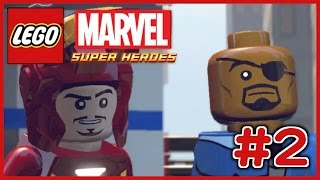 レゴ スパイダーマン登場 lego マーベル スーパー ヒーローズ ザ ゲーム