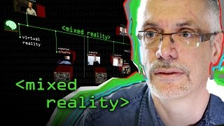 Mixed Reality Continuum - Computerphile