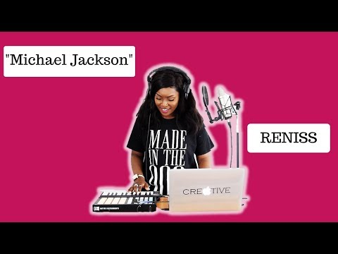 Reniss Michael Jackson  Cover by AnneFlorence