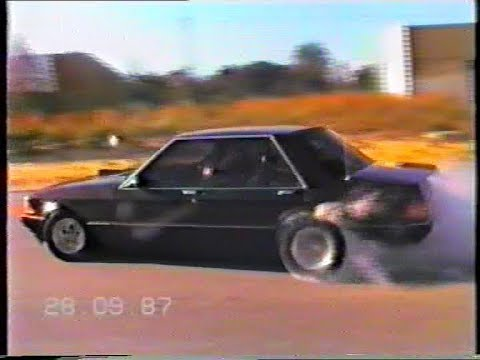 1980s Street Burnouts, Street Racing, Ravenswood Drags Home Video