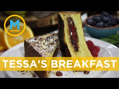 Tessa Virtue's ultimate cheat day breakfast | Your Morning