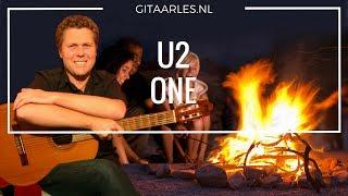 U2 - One simpel op gitaar leren spelen