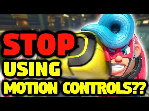 ARMS - Stop Using Motion Controls??