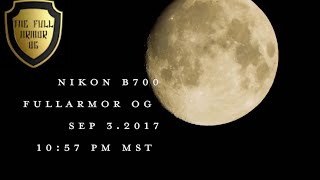 MY NIKON B-700 FLAT EARTH MOON VIDEO |100%| VERIFIED CLOSE MOON