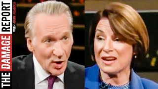 Bill Maher BASHES Progressives With Klobuchar