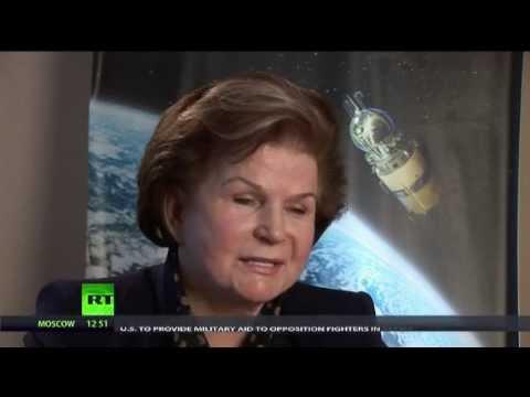 First woman in space - Valentina Tereshkova - true hero who saved my life.