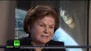 First woman in space - Valentina Tereshkova - true hero who saved my life.