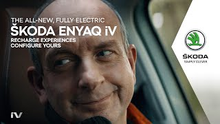 The all-new, fully electric ŠKODA ENYAQ iV: Recharge experiences.