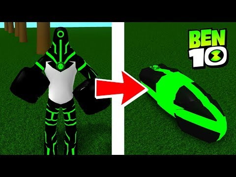 Ben 10 Upgrade Awesome Abilities! Ben 10 Arrival of Aliens REMAKE Roblox