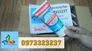 mở hộp Sữa rửa mặt miễn dịch trị mụn immuno