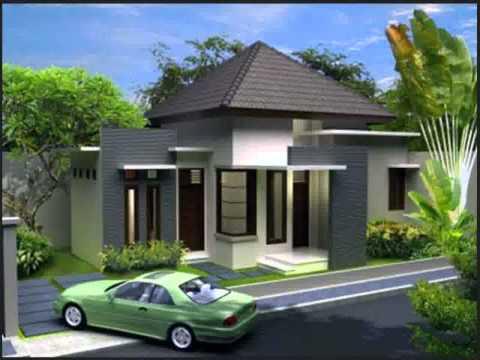 trend model rumah atap cor