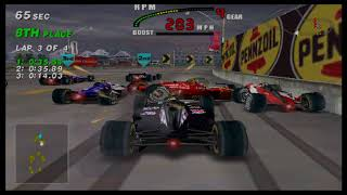 MAME 194 CART FURY RACING TORONTO CANADA ARCADE RACE 2018