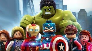 БРЕЙН ВПЕРВЫЕ ИГРАЕТ В LEGO Marvel's Avengers