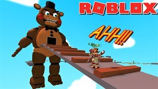 ESCAPE GIANT FREDDY OBBY... And Get Some Yummy Cookie!! | Weird Side of Roblox