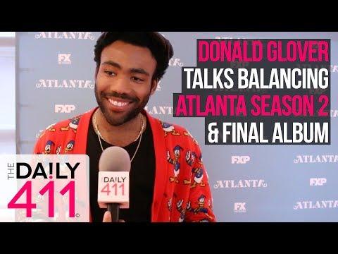 Donald Glover (Childish Gambino) Says Balancing Atlanta Season 2 & Final Album Means No Sleep