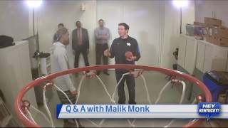 Matt Plays Horse with Malik Monk