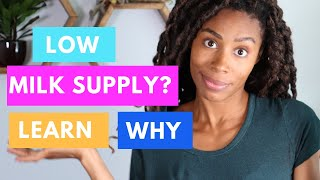Breastfeeding 101: Cause Of Low Milk Supply (Tips from a Lactation Consultant)