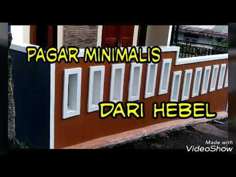 Pagar Minimalis Mantapp . - YouTube